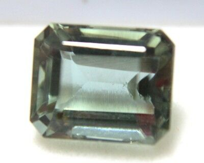 10.60 Ct GGL Certified Emerald Cut Brazilian Alexandrite Color Changing Gemstone