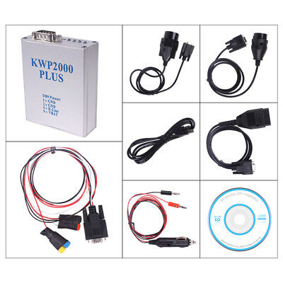 EOBD 2 OBDII OBD2 ECU Program Diagnostic Cable Remap Flasher