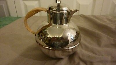 Antique Apollo Bernard Rice's Sons Silverplate Teapot Coffee Cream Pot 2213