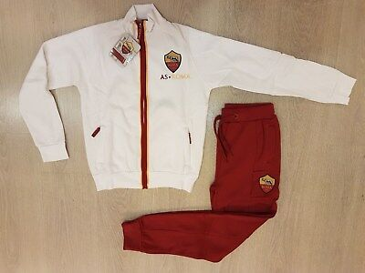 b3ae8eda0e76bf AS ROMA COMPLETO-TUTA Felpata Con Zip Kid/Junior Cod.13624 Saldi -50 ...
