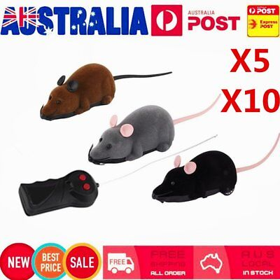 Wireless Remote Control RC Mouse Electronic Rat Funny Motion Z#