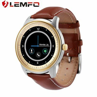 LEMFO LEM1 Pedometer Bluetooth Wristwatch Sync Phone Book for iOS for AndroYT