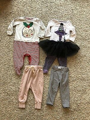 Bundle of Baby Girl Clothes from Next & M&S Size 12-18 Months