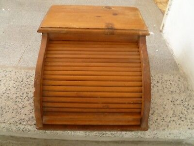 Antique office cabinet, sliding cover  accordion type