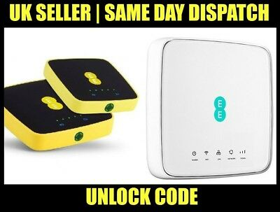 Unlock Code for EE 4GEE Modem/Router HH70VB 4GEE WiFi / Mini EE70, EE40VB, EE120