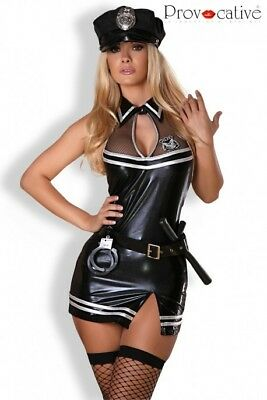 Officer Dress Costume Police Provocative