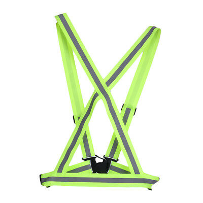 Traffic Night Work Security Running Cycling Safety Reflective Vest Jacket YT