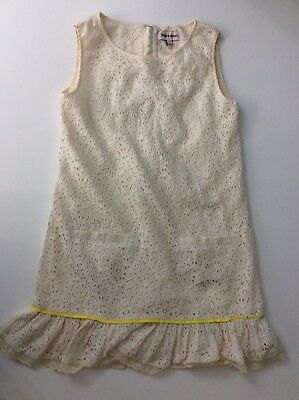 Juicy Couture Cream Dress Age  12 Yesrs Vgc
