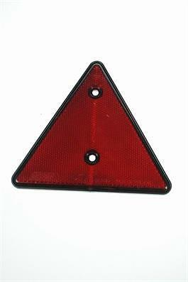 138Mm Red Reflector ,reflective Triangle, Trailer,  Motorhome, Caravan,