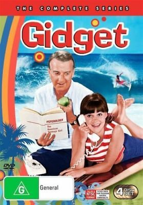 Gidget: The COMPLETE Series DVD TV 60's COMEDY Sally Field 4-DISCS BRAND NEW R4