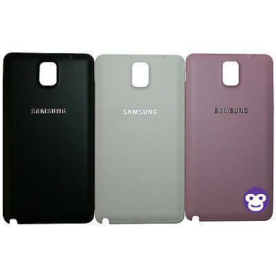 Genuine Samsung Galaxy Note 3 Original Rear Back Battery Cover N9000 N9005
