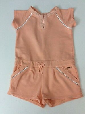 Chloe Orange Jumpsuit Playsuit Age 2 Yeras Vgc
