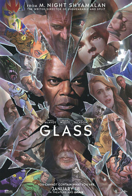 Glass Advance Original Movie Poster Double Sided 27x40
