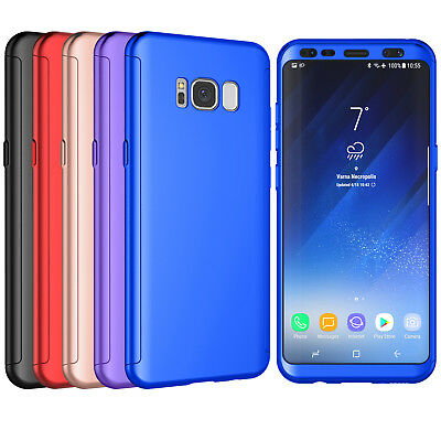 For Samsung Galaxy S8 Plus + Shockproof Screen Protector Hybrid 360° Case Cover