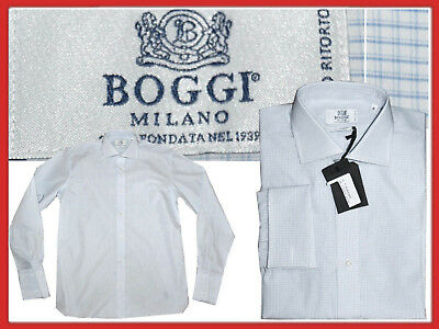 BOGGI MILANO Shirt man 40 / 15 3/4 / L Shop 99 E Here for Much Less! BO01 L-1