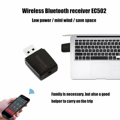 Mini Portable Wireless Bluetooth Audio Receiver EC502 USB Device Power Supply FD