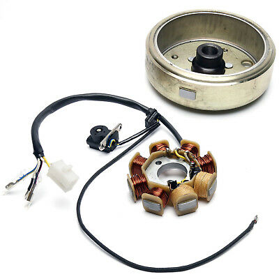 GY6 50cc Scooter Stator & Flywheel Kit 139QMB Sinnis Prime 50 ZN50QT-11D 15-17