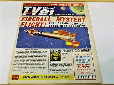 TV CENTURY 21 # 17 May 15 1965/2065 Stingray/Daleks/Fireball xl5/Lady Penelope