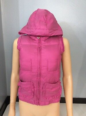 Juicy Couture Pink Gilet Body Warmer Age 12 Years Gc