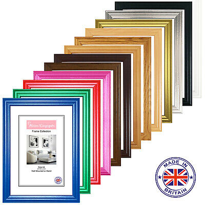 A1 A2 A3 A4 A5 6x4 7x5 8x6 Home Photo Picture Hanging Mounting Poster Frame LW