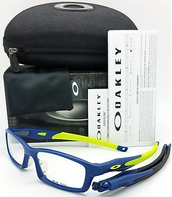 NEW Oakley Crosslink RX Asian FT Frame Satin Navy/Retina Burn OX8029-1356 56mm