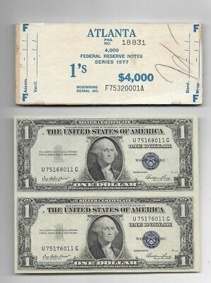 "2 X $1 ""still Connected"" (Silver Certificate) 1935 $1""still Connected""+$ Cover!!"