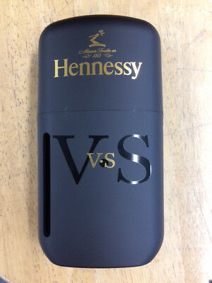 Hennessy Cognac 200 ML Case Black/Gold Limited Edition !! COLLECTIBLE