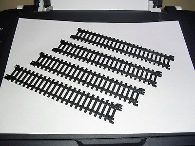 Hornby Junior Express Accessories. 4 x Straight Track.