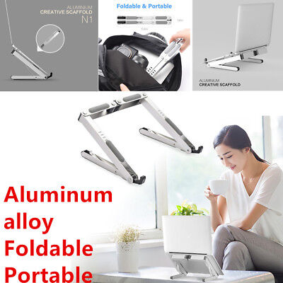 Durable Portable Laptop Stand Adjustable Ventilated Aluminum Tablet Holder Tool