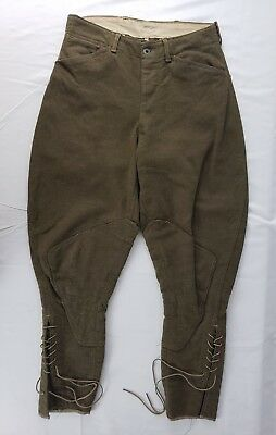 WWI Enlisted Mans Wool Pants US Army WW1 Breeches