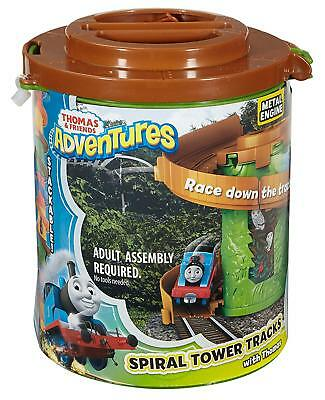 Fisher-Price Thomas The Train Adventures Spiral Tower Tracks with Thomas