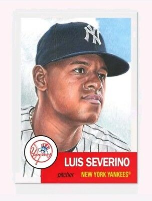 2018 Topps Living Set 115 Luis Severino Yankees Presale!