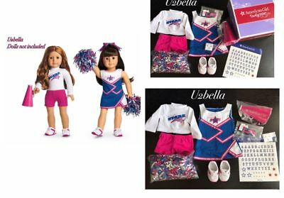 American Girl Doll 2 In 1 Cheer Gear Outfit Set No Doll NEW IN BOX Truly Me
