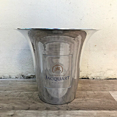 Vintage French Champagne Ice Bucket Cooler Made in France JACQUART 05121820 NEW