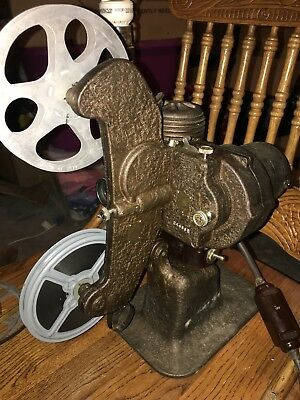 Antique Bell & Howell Company FILMO-Master 8mm Projector With Film And Case