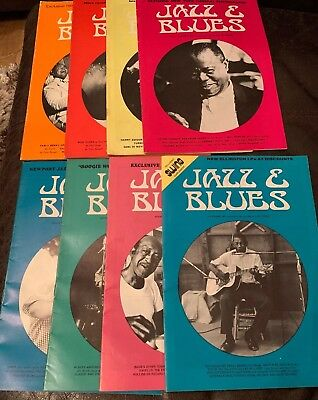 Jazz & Blues Monthly Magazine - 8 Issues - 1971