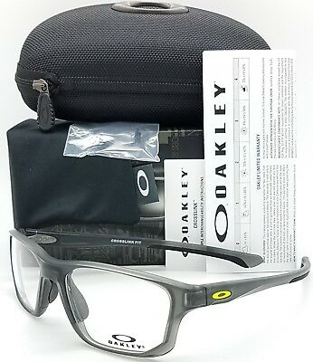 d7d9c06eb7 NEW Oakley Crosslink Fit RX Frame Satin Grey Smoke OX8136M-0255 55mm  AUTHENTIC