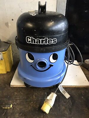 Numatic Charles Cvc-370 Wet & Dry Vacuum Cleaner Blue 110V