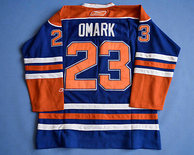Oilers Omark Ccm Size 52