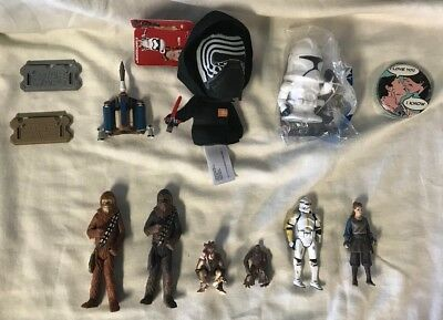 LOT of Star Wars figurines and parts