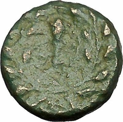 Sardes in Lydia 133BC Ancient Greek Coin Apollo father of Asclepius Club i51724