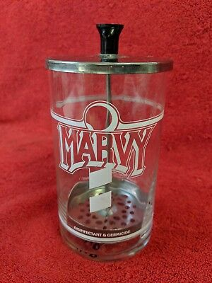 Used Marvy Disinfectant And Germicide Jar