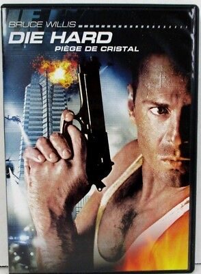 Die Hard DVD Bruce Willis English and French Widescreen