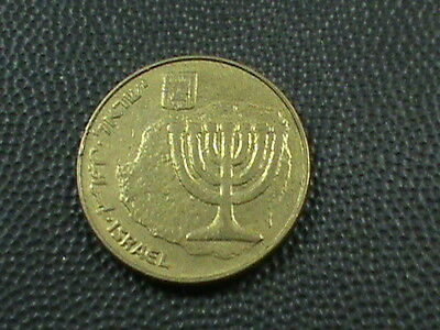ISRAEL  10 Agorot   1987   ,   $ 2.99  maximum  shipping  in  USA