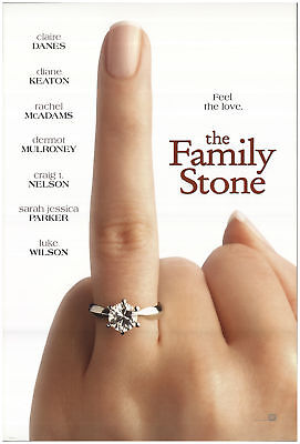 The Family Stone 2005 27x40 Orig Movie Poster FFF-71368 Rolled Diane Keaton