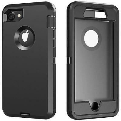For Apple iPhone 7 iPhone 8 Defender Case Rugged Cover & Belt Clip Fits Otterbox