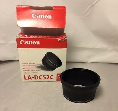 Canon LA-DC52C Conversion Lens Adapter