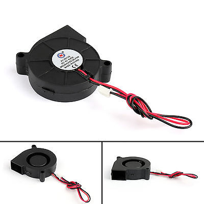 1Pc Brushless DC Cooling Blower Fan 5V 5015s 50x50x15mm 0.23A Sleeve 2 Pin Wire.