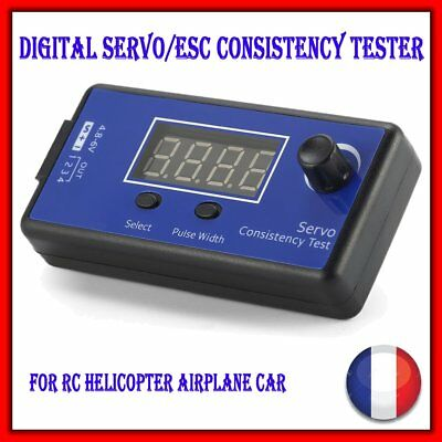 Digital Servo 1-4 Tester /ESC Consistency Tester For Planes & Helicopters Cars D