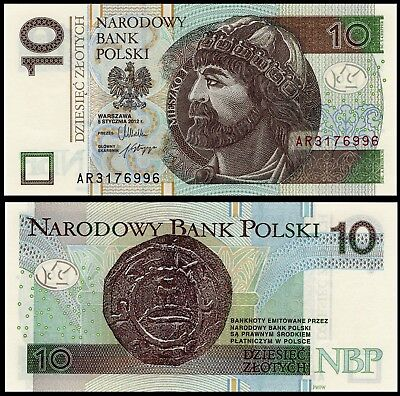 Poland set 10,20,50 zloty 05.01.2012 issue 2014 P-new UNC AA series P-183-185